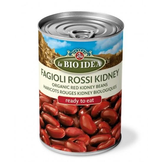 Bio Fasole rosie Kidney la conserva 400g Bio Idea