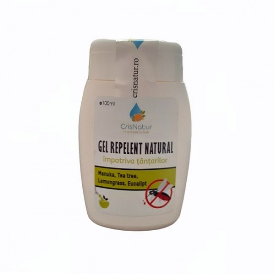 Gel repelent natural impotriva tantarilor 100ml Handmade