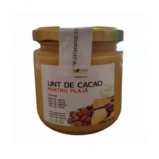 Unt de Cacao pentru Plaja 200g Handmade
