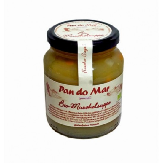 "Bio Supa de midii 350ml ""fara gluten"" Pan Do Mar"
