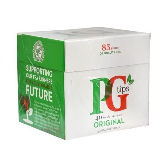 Ceai negru ORIGINAL 40 plicuri X 2.9g P&G tips