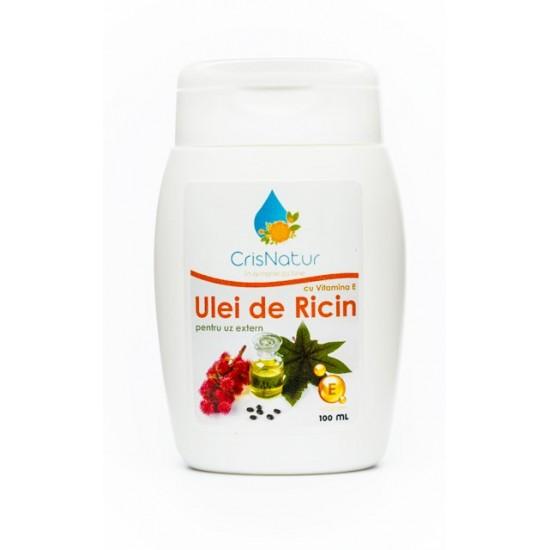 Ulei de ricin cu vitamina E 100ml