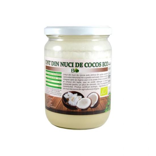 Bio Ulei de cocos extravirgin presat la rece 1000ml